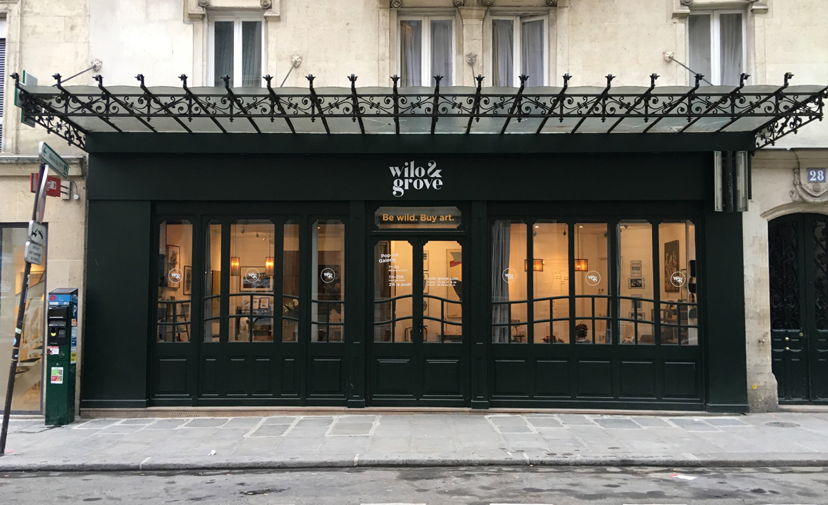 pop up rue du pont louis philippe - façade
