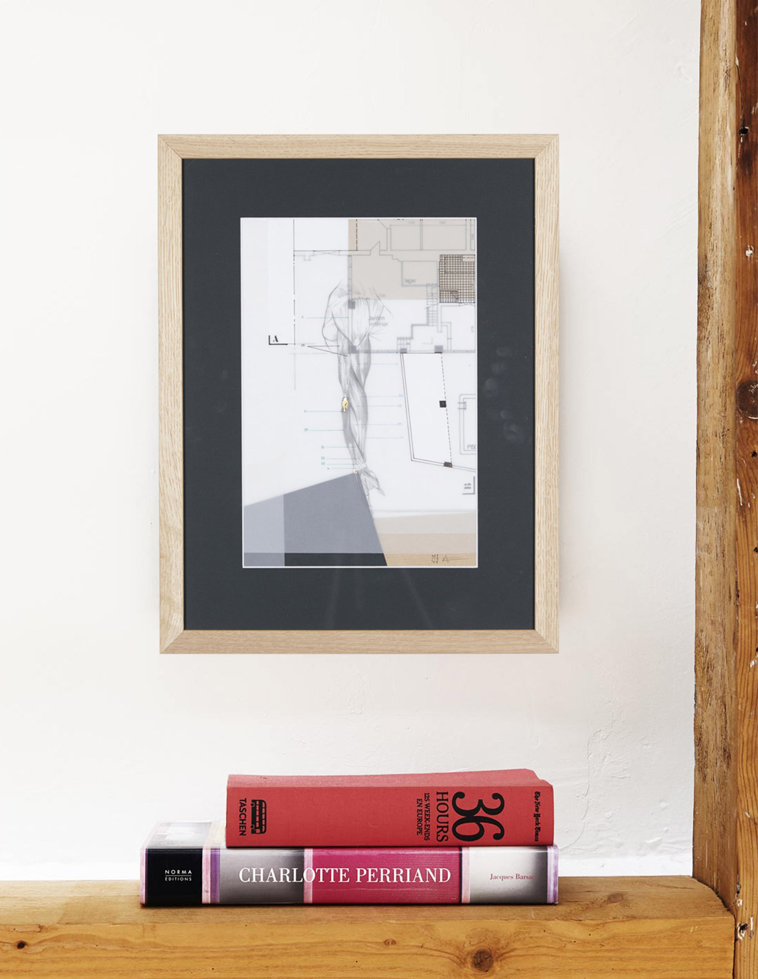 Milena Cavalan - Oeuvre sur papier - Construction-anatomique-Jardim-interior1