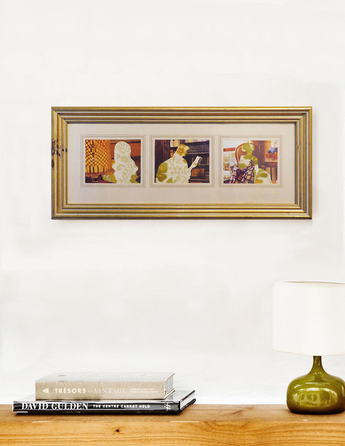 Clémentine Carsberg - Collage - Les trois concentrées