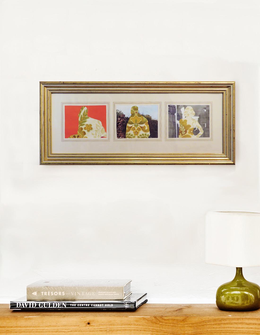Clémentine Carsberg - Collage - Les trois poseurs