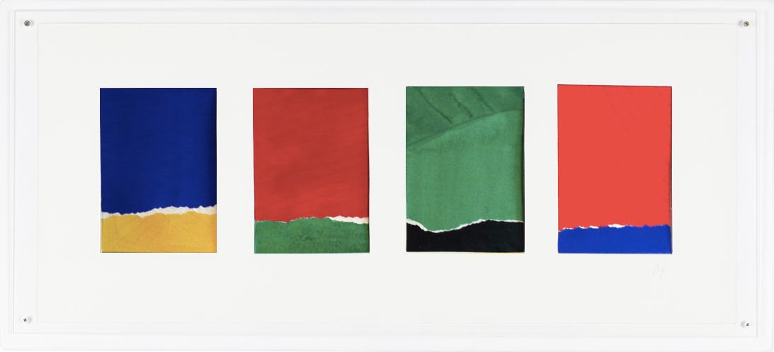 Oeuvre sur papier de Bernard Gortais - Continuum 34