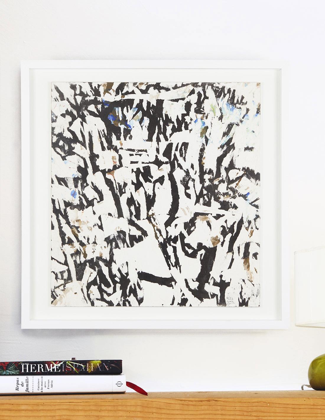 Oeuvre sur papier - Laurent Karagueuzian - Ecriture de lumière
