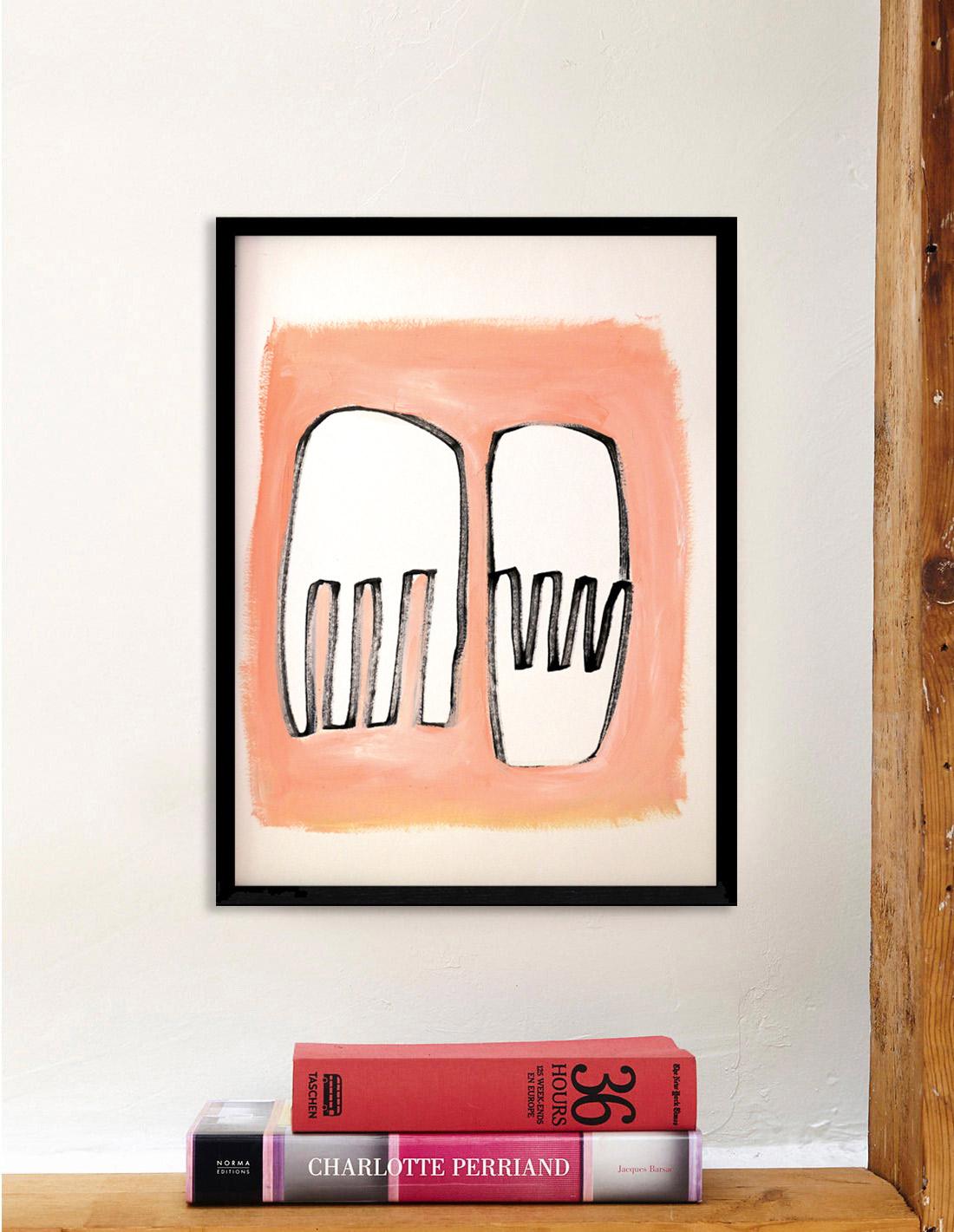 Oeuvre sur papier - Virginie Hucher - Chair
