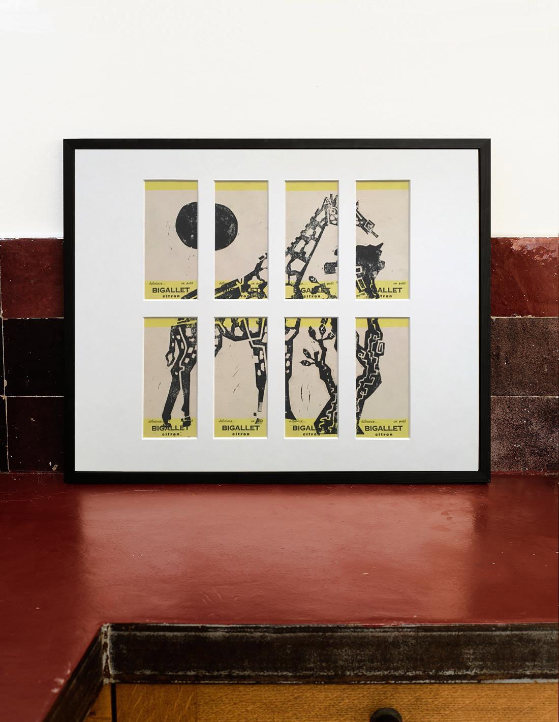 Girafe - Gravure - Emma Iks