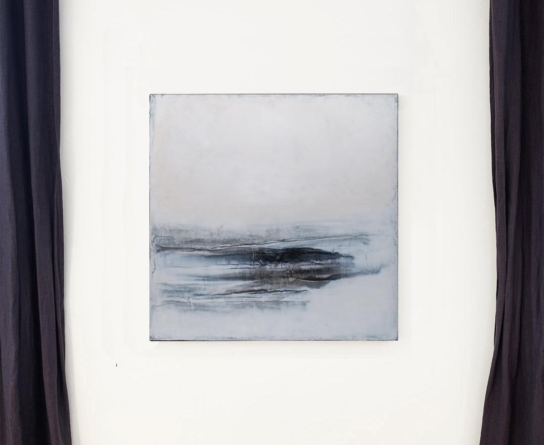 Marée basse - Tableau - Hélène Leroy