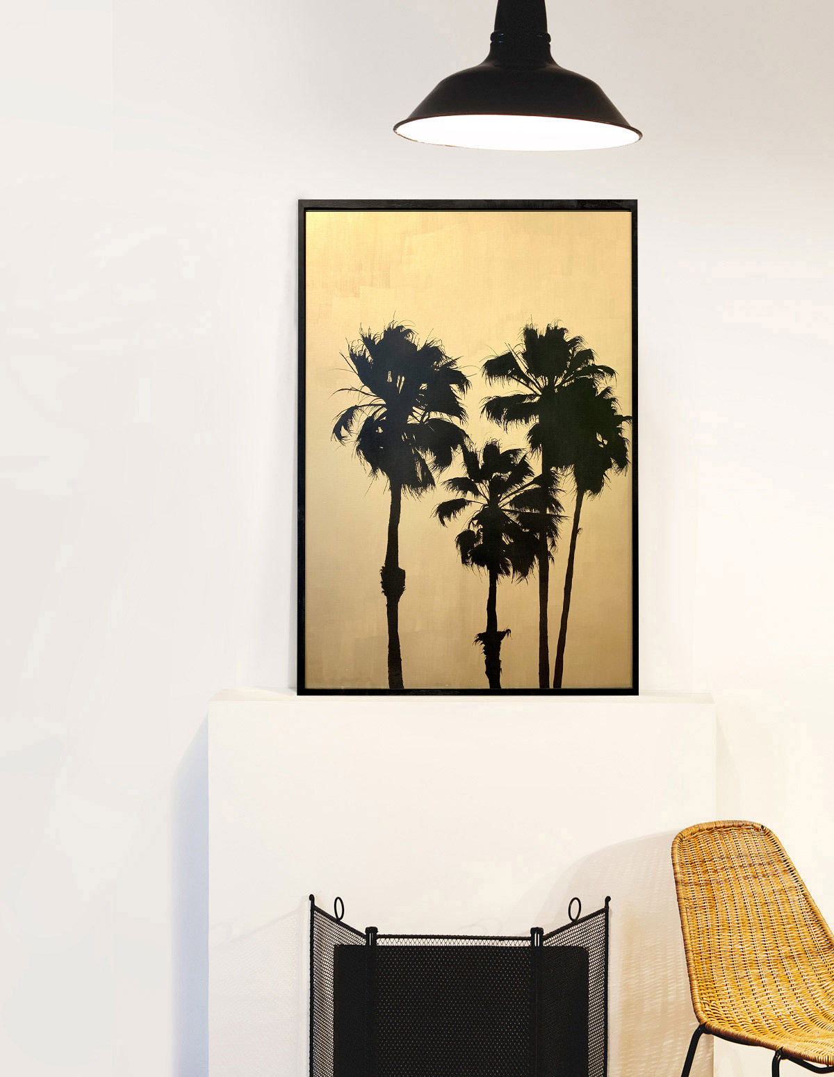 Grands palmtrees IV - Tableau- Hubert Jouzeau