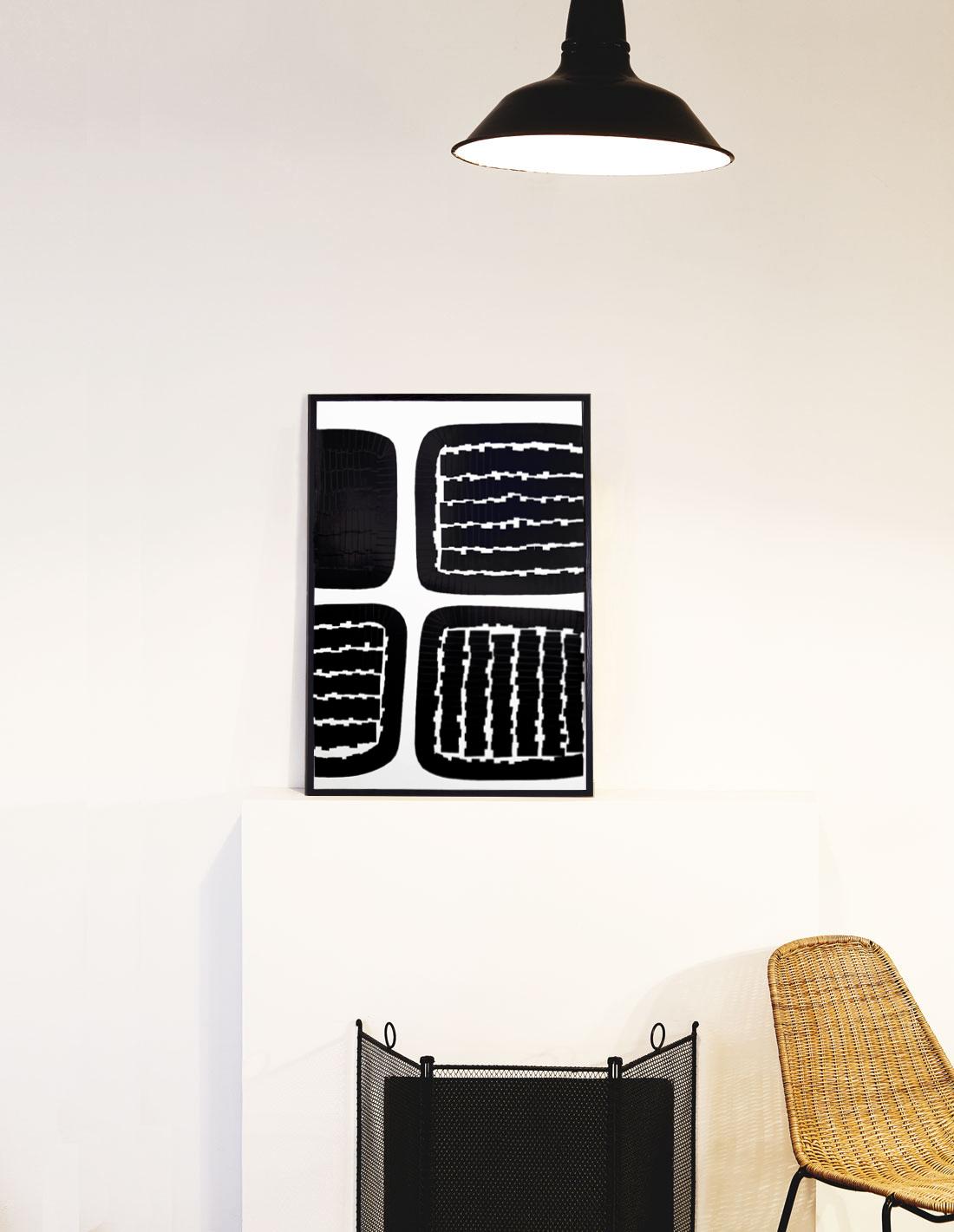 Oeuvre sur papier - Marc Dutilleul - Labyrinthe fermé