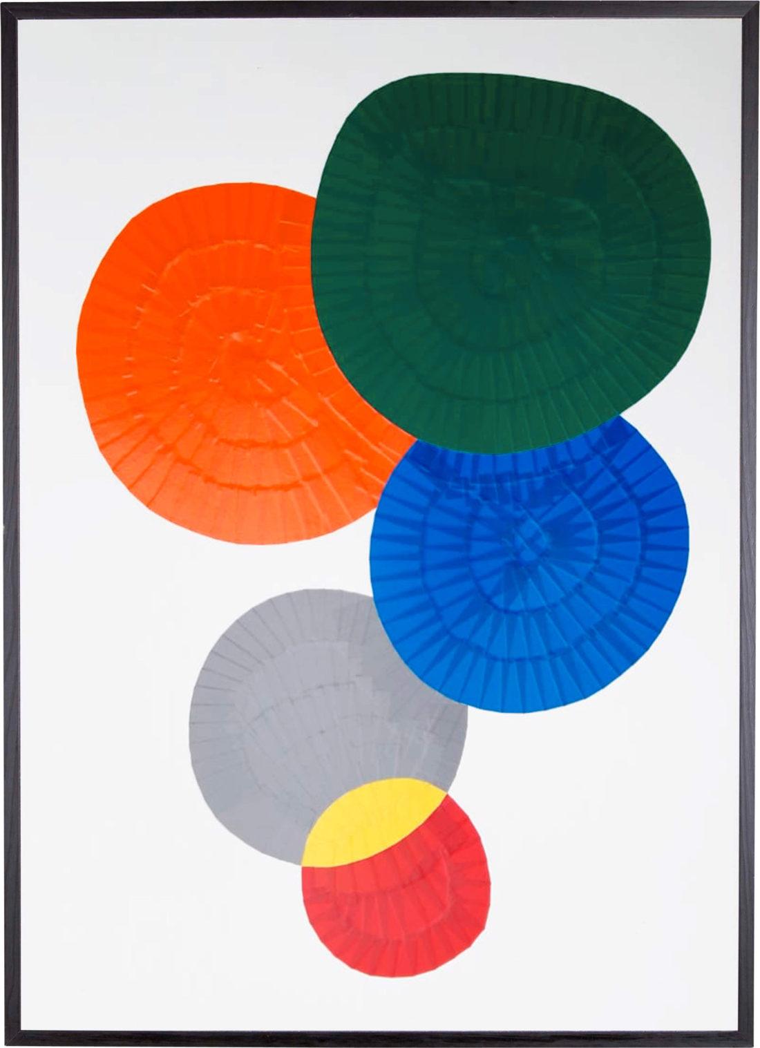 Oeuvre sur papier - Marc Dutilleul - Les galets de Collioure