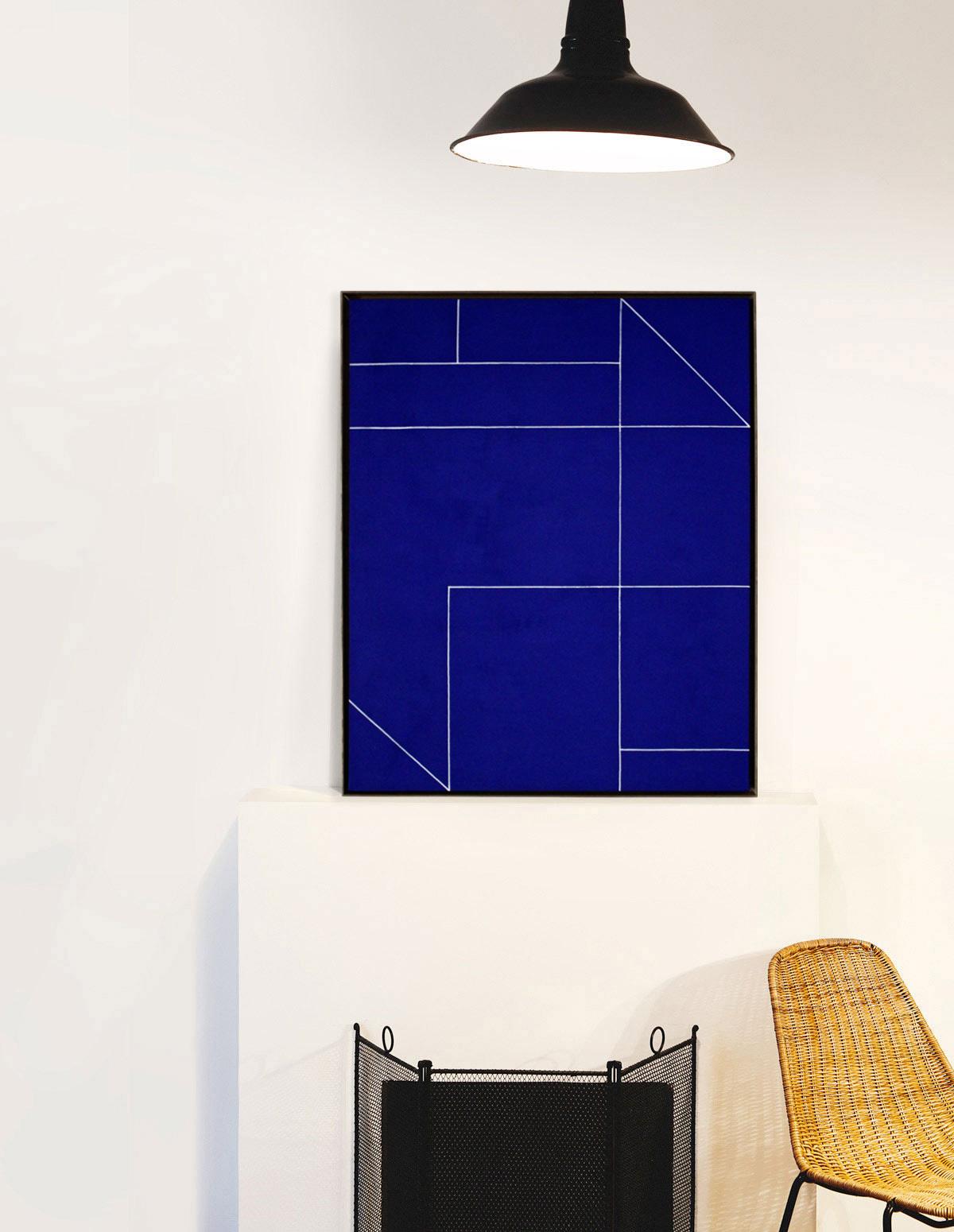 Tableau - Audrey Noël - Sans titre (bleu klein)