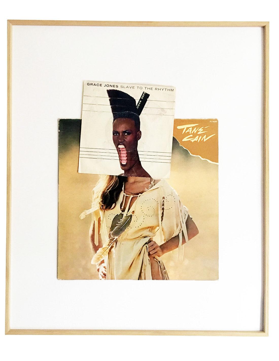 Collage - Michel Himself - Grace Caïn