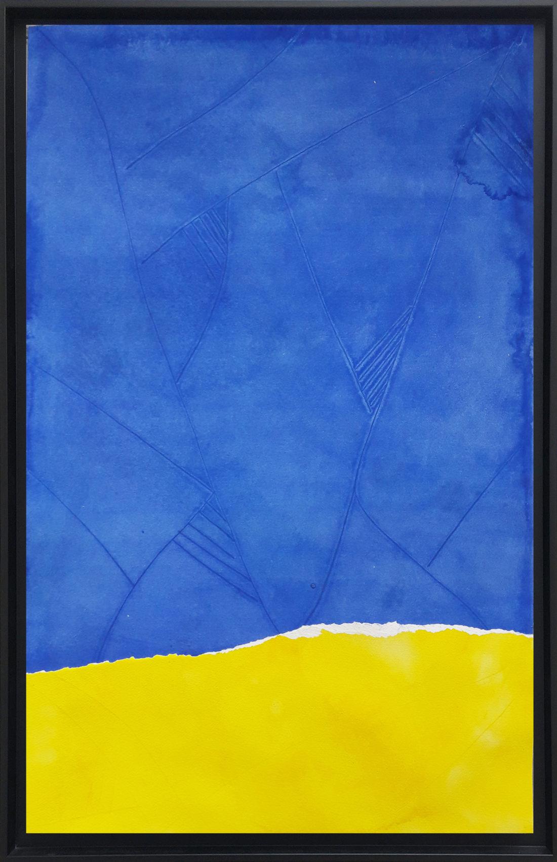 Oeuvre sur papier - Bernard Gortais - Continuum 120