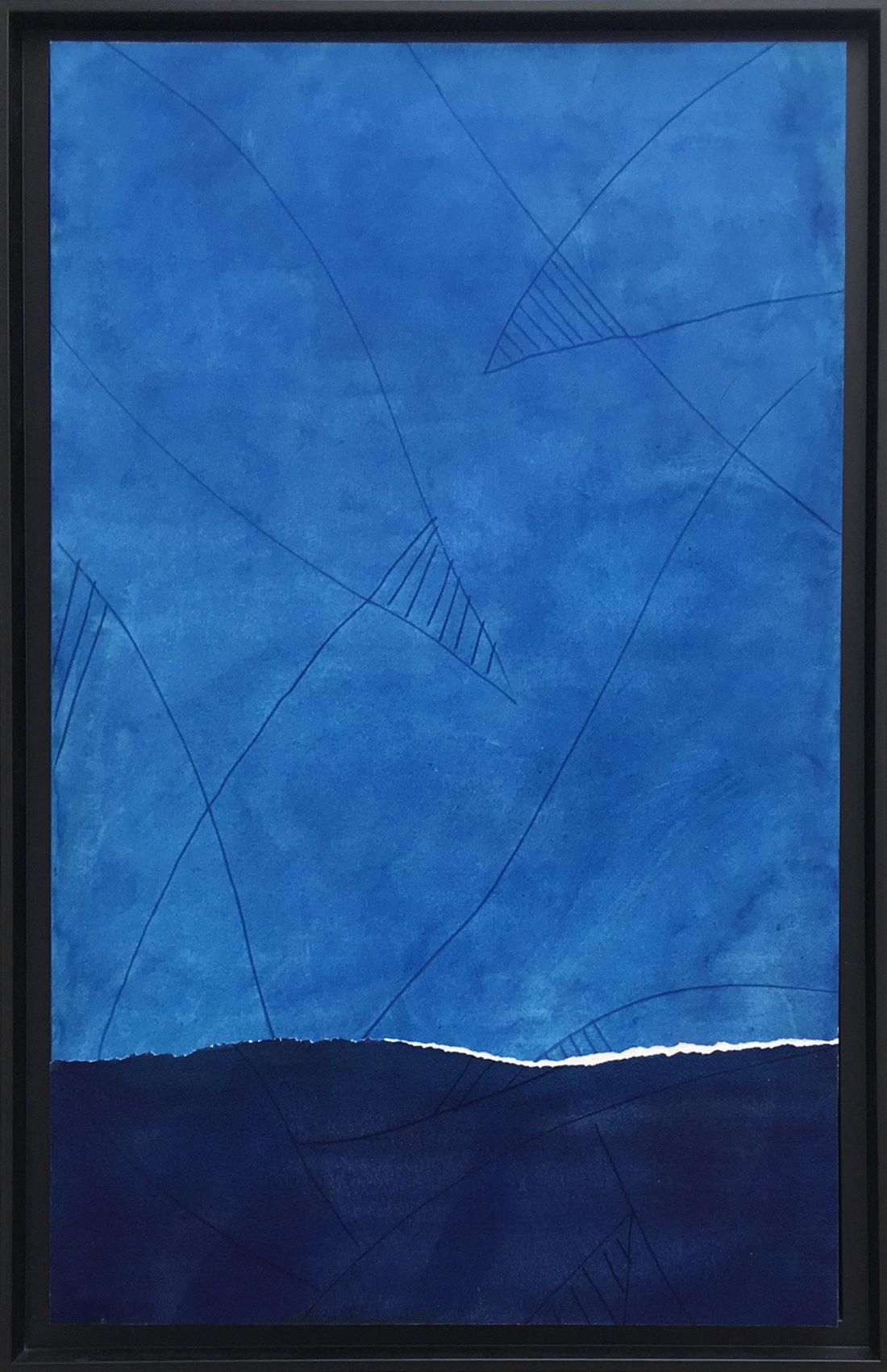 Oeuvre sur papier - Bernard Gortais - Continuum 122