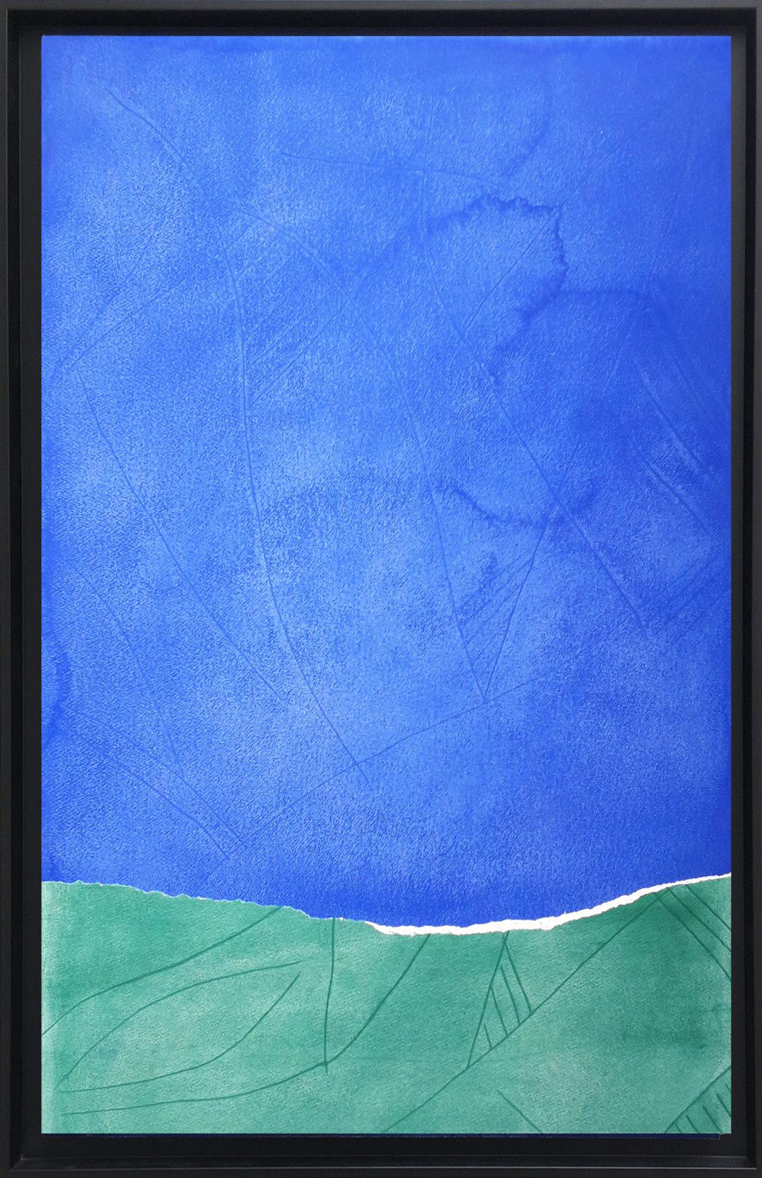 Oeuvre sur papier - Bernard Gortais - Continuum 123