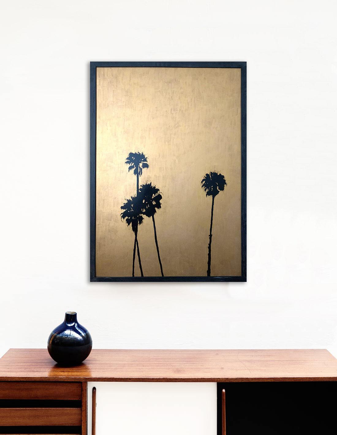 Giant palmtrees II - Tableau- Hubert Jouzeau