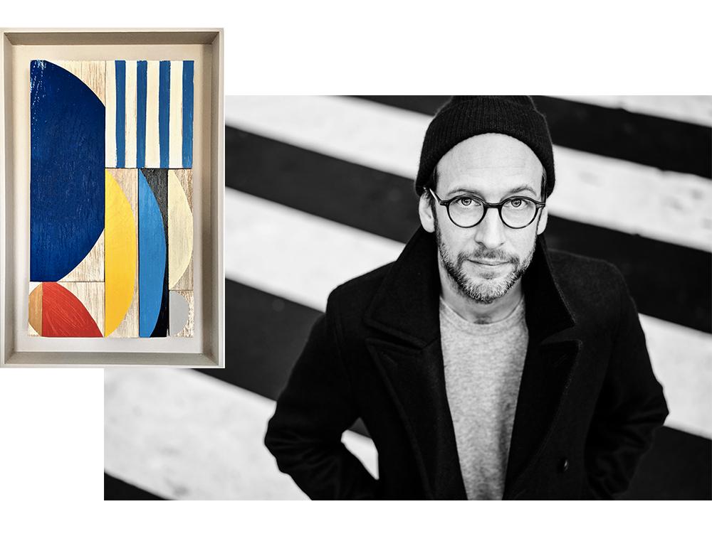 Portrait de l'artiste, Michaël Schouflikir