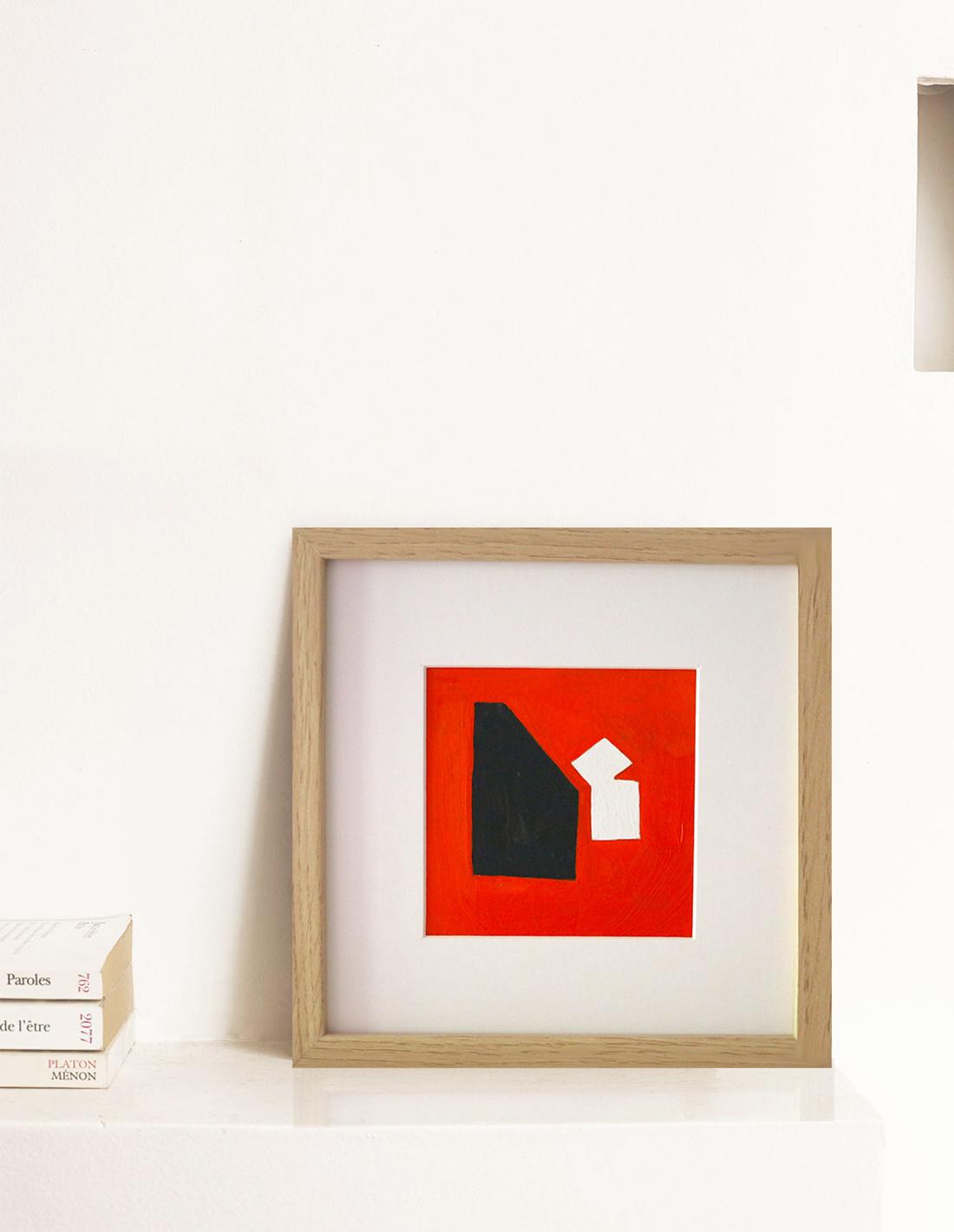 Oeuvre sur papier - Virginie Hucher - Orange mécanique