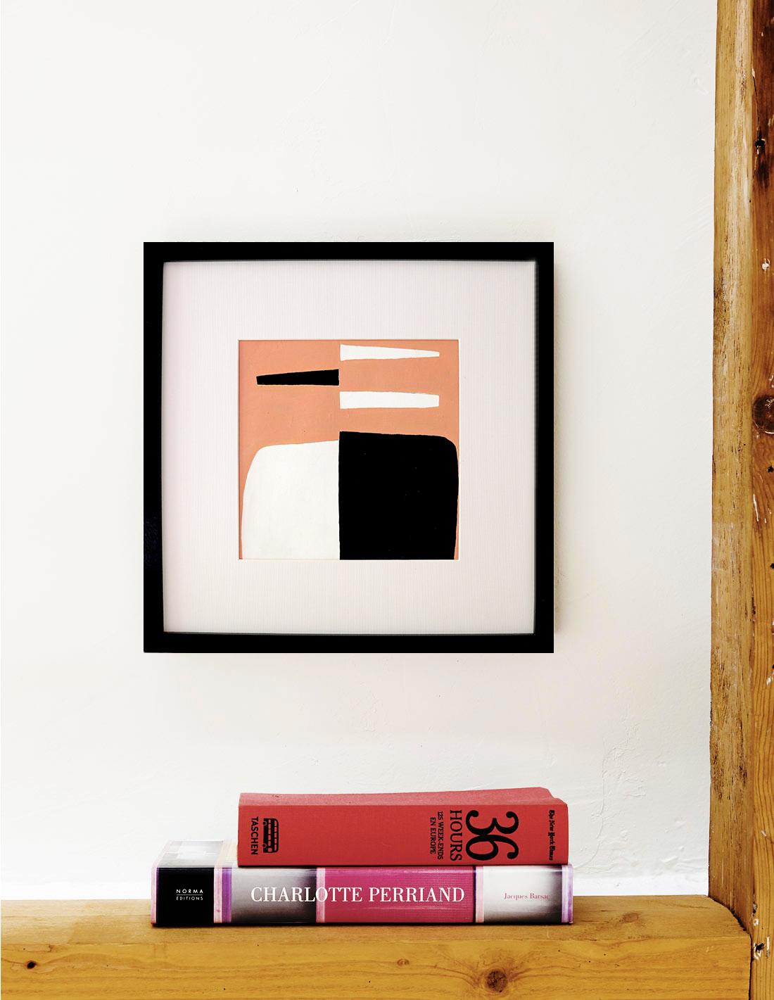 Oeuvre sur papier - Virginie Hucher - Composition 66