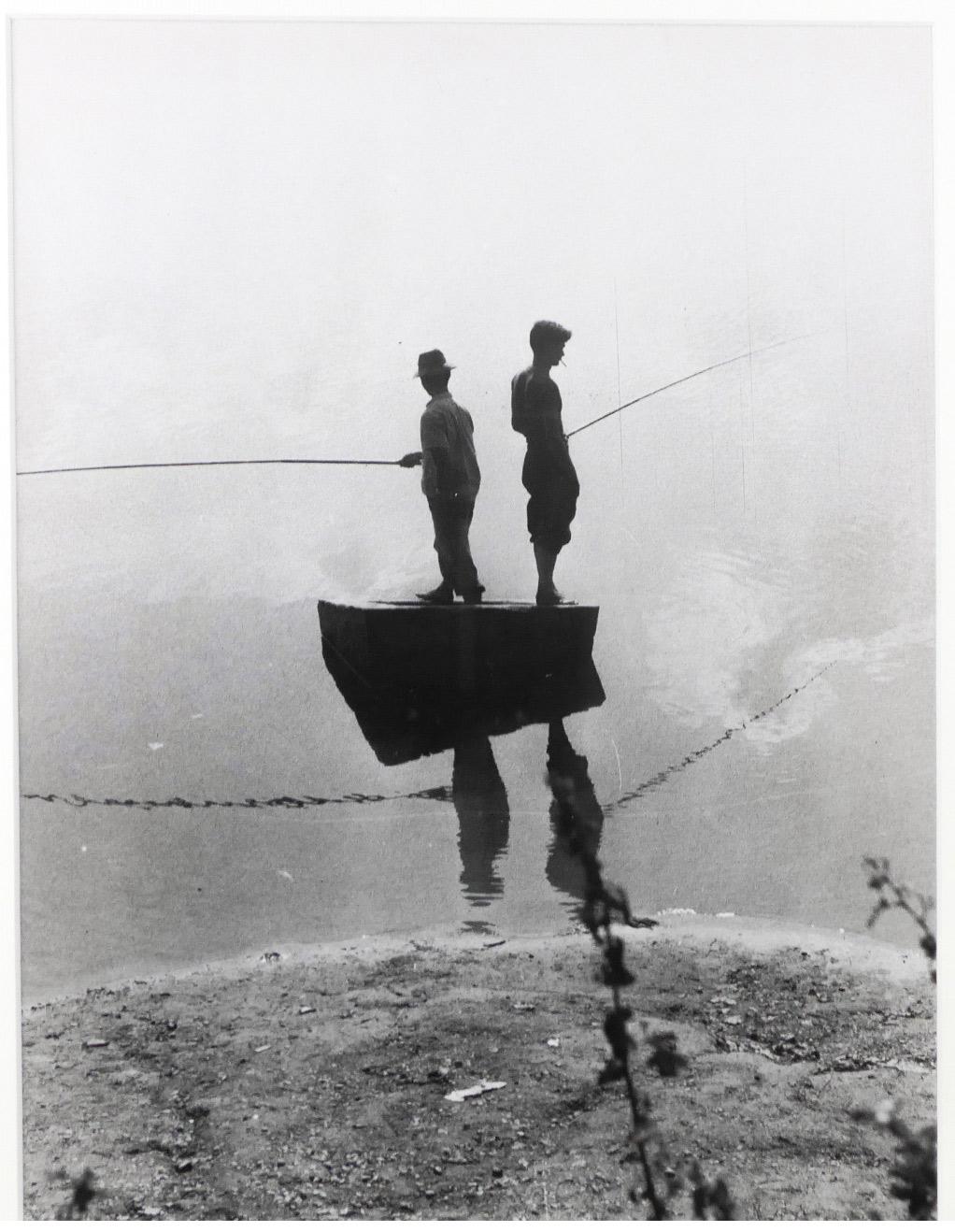 Lumière des roses - Photographie - Deux pêcheurs