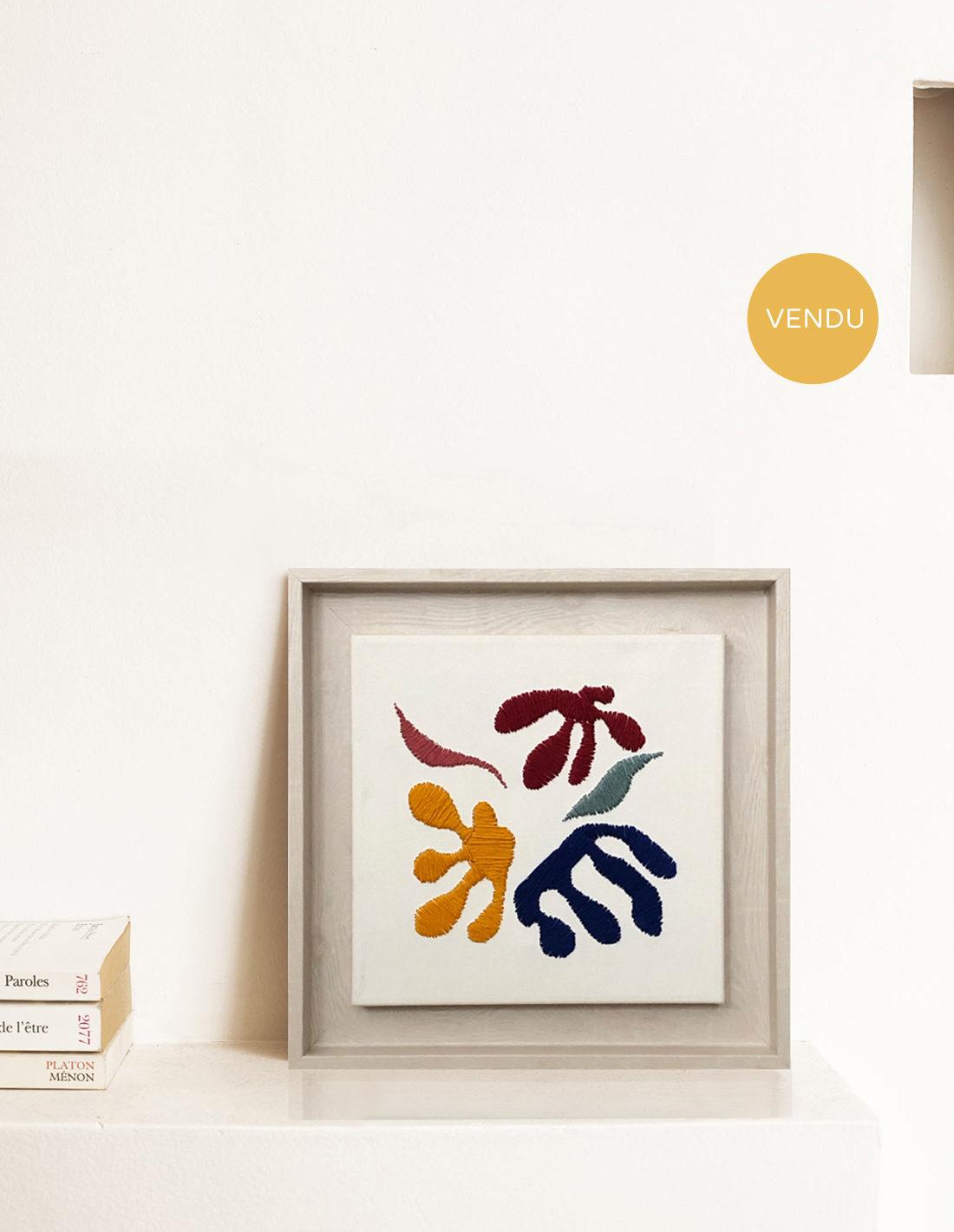 Kanica - Tableau - Hommage à Matisse