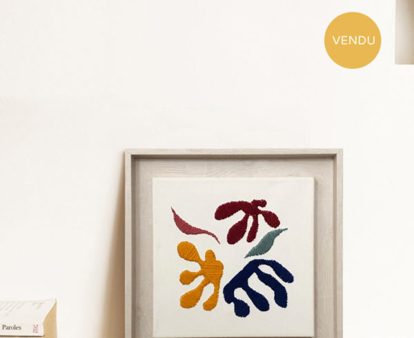 Kanica - Tableau - Hommage à Matisse
