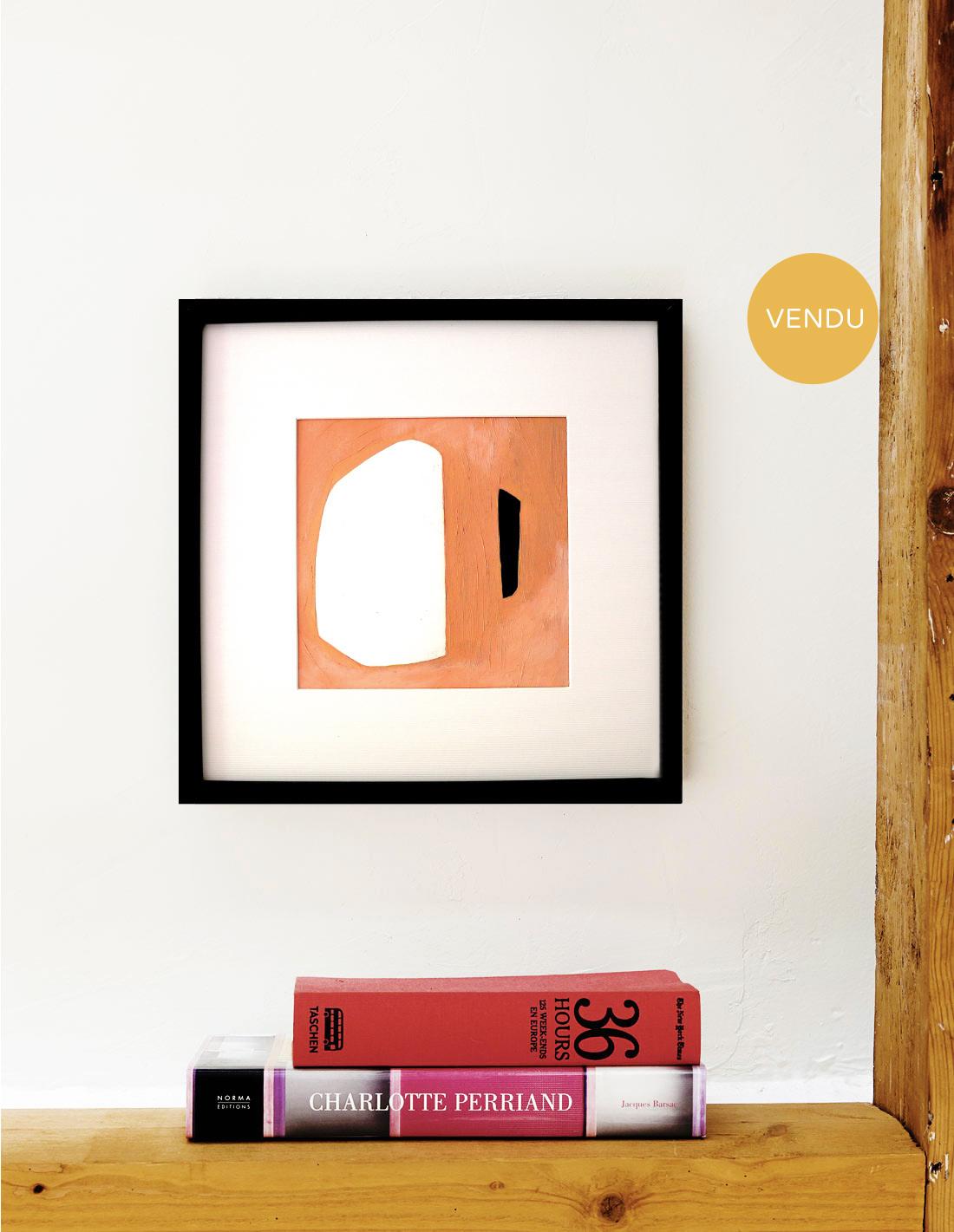 Oeuvre sur papier - Virginie Hucher - Composition 65