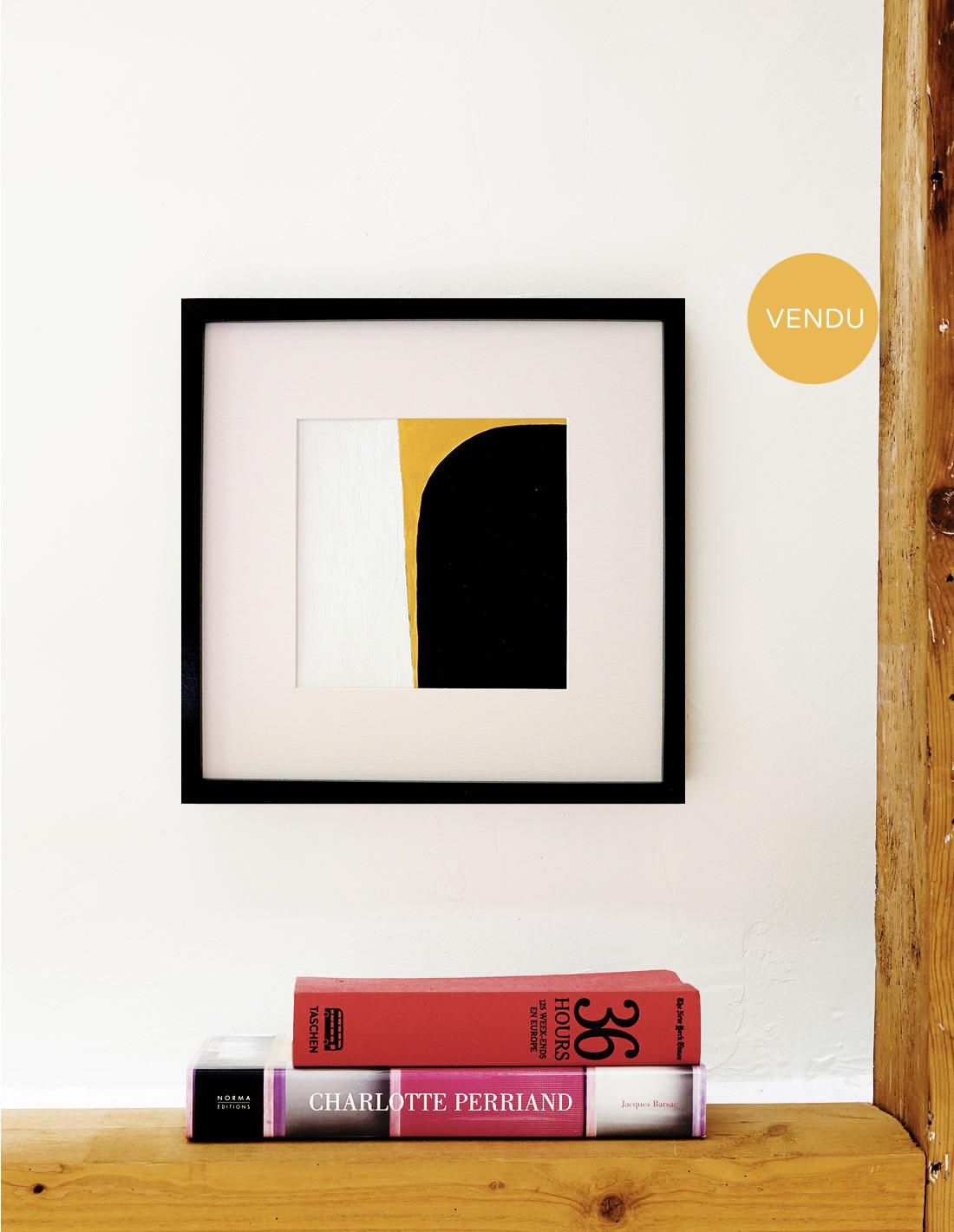 Oeuvre sur papier - Virginie Hucher - Composition 64