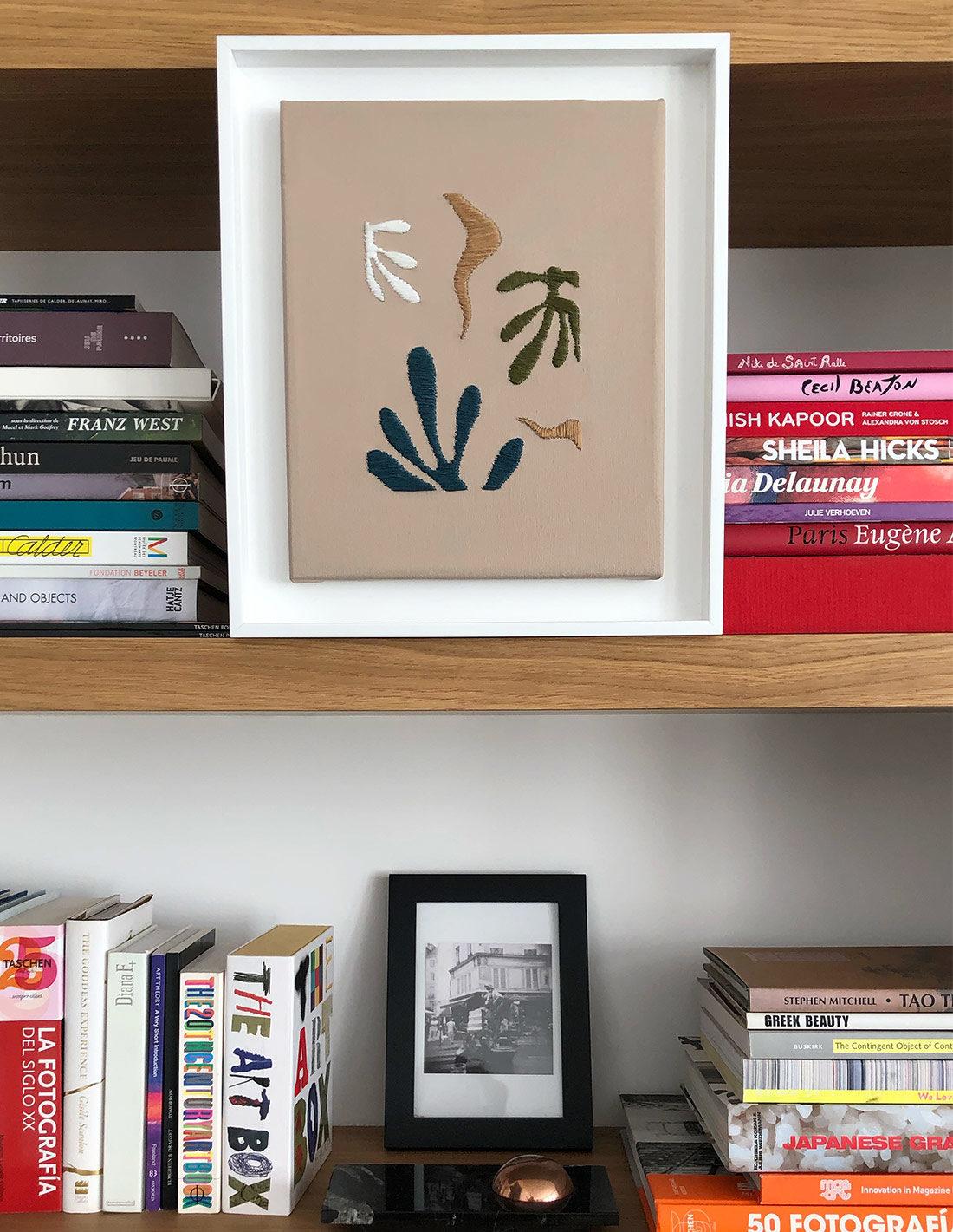 Kanica - Tableau - Hommage à Matisse II