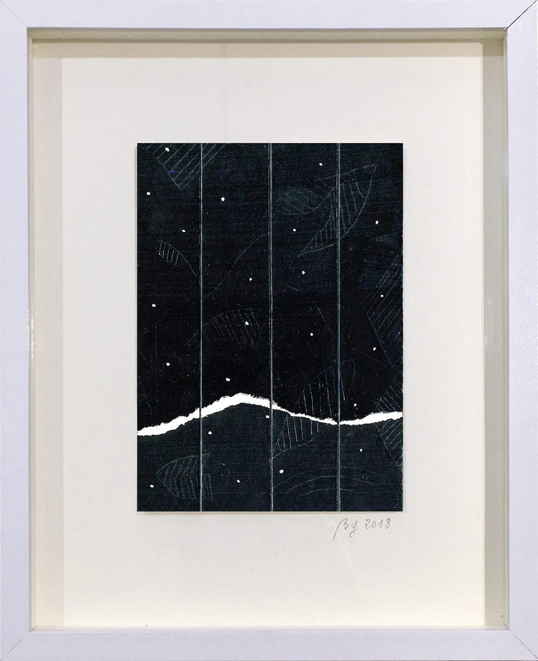 Bernard Gortais - Oeuvre sur papier - Continuum 139