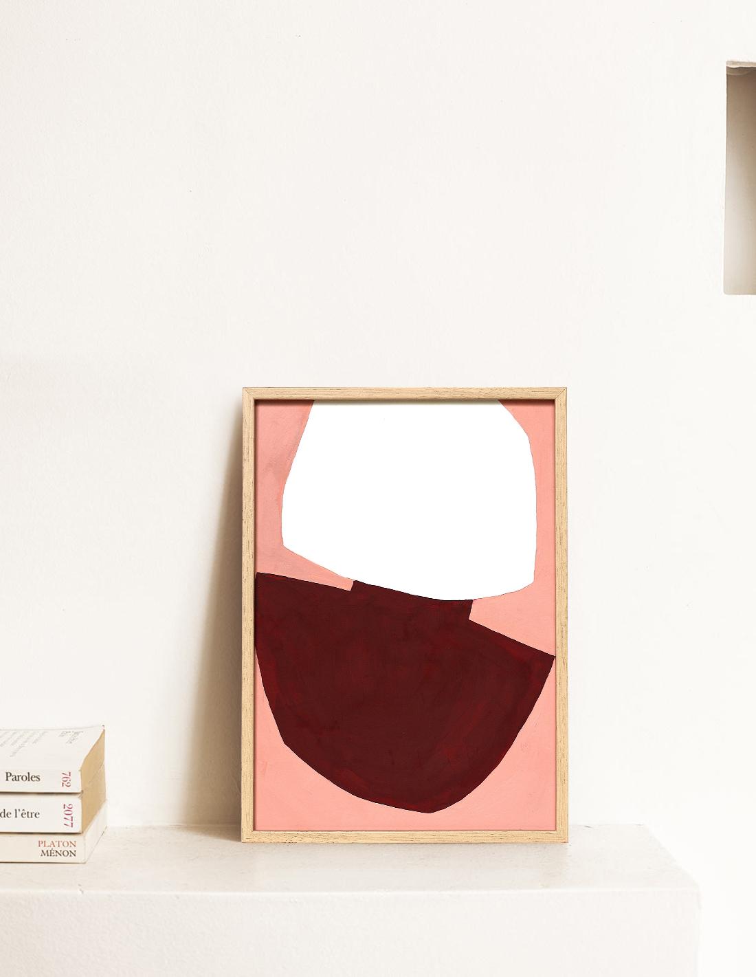 Virginie Hucher - Huile sur toile - Sunset surface