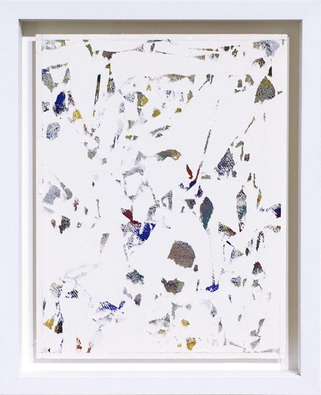 Laurent Karagueuzian - Oeuvre sur papier - Papiers écorchés no 198