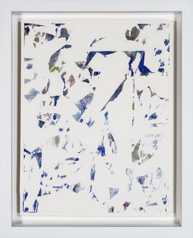 Laurent Karagueuzian - Oeuvre sur papier - Papiers écorchés no 199