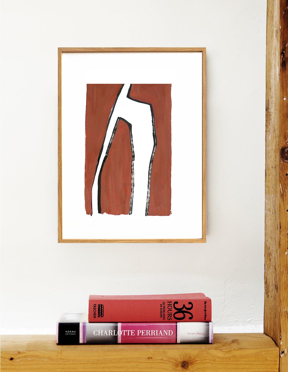 Virginie Hucher Chocolat peinture