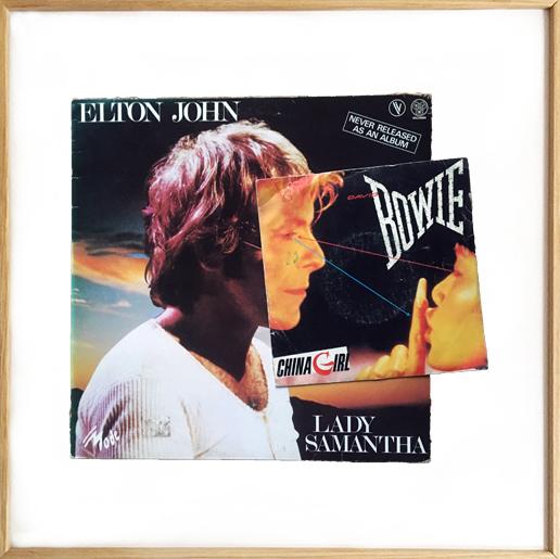 Michel Himself - Collages - Elton Bowie