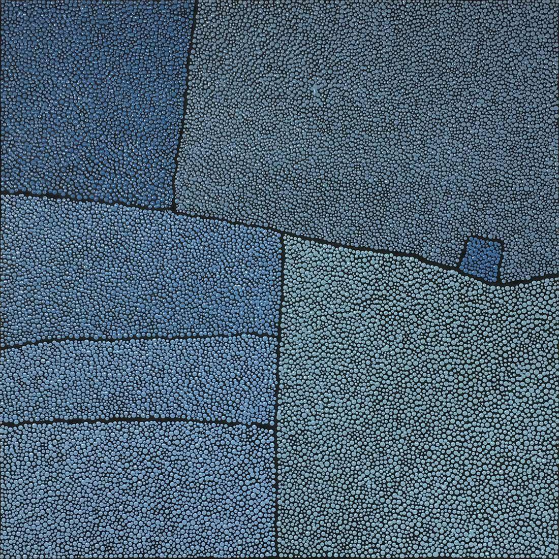 Marjolaine de La Chapelle - Sans titre petit bleu II