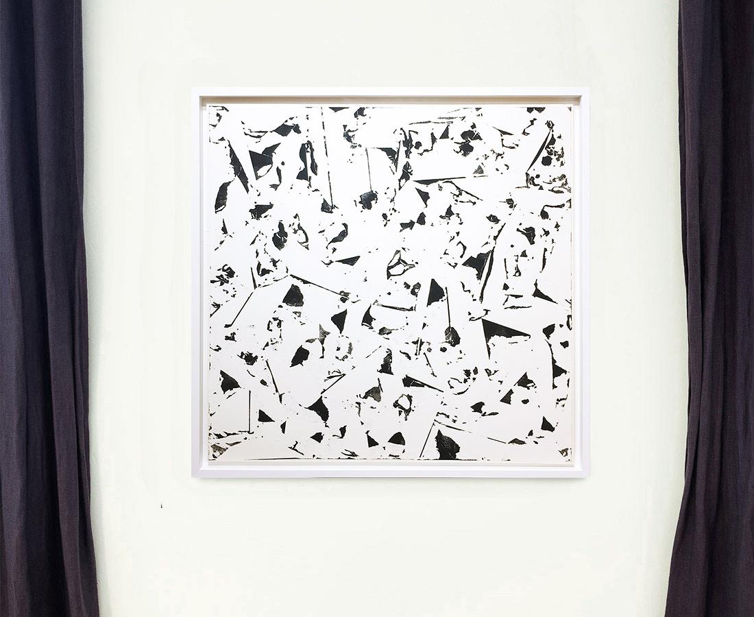 Laurent Karagueuzian - Oeuvre sur papier - Papiers écorchés no 220
