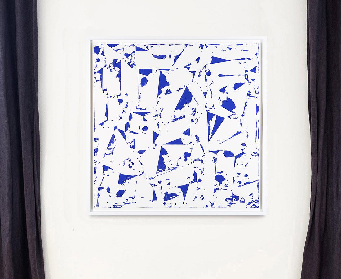 Laurent Karagueuzian - Oeuvre sur papier - Papiers écorchés no 221