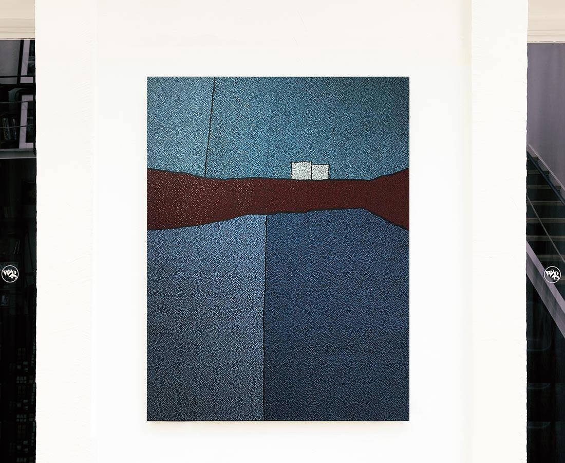 Marjolaine de La Chapelle - Sans titre (bleu et rouge)