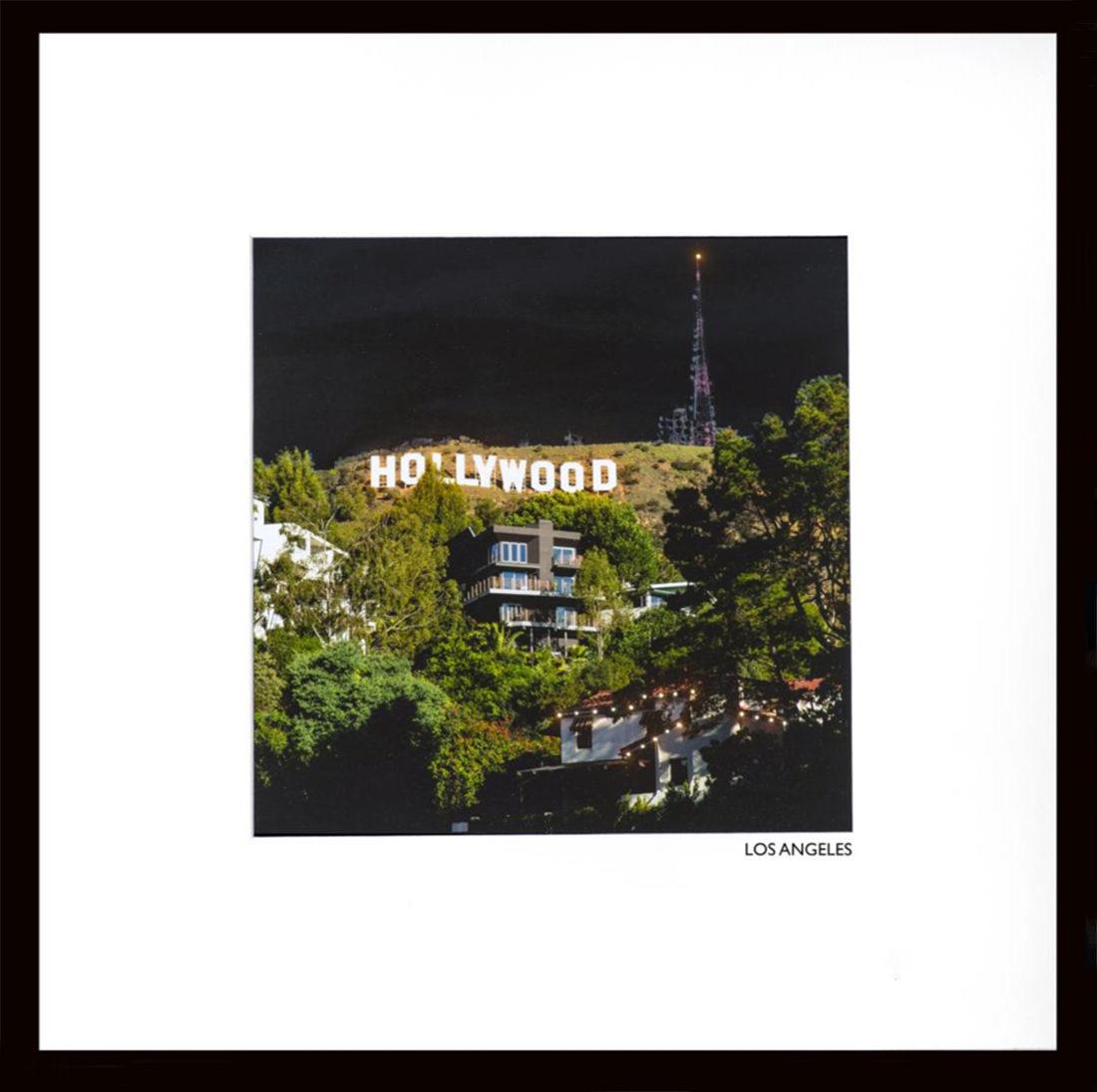 Mises en lumière - Colline Hollywood LA 2012