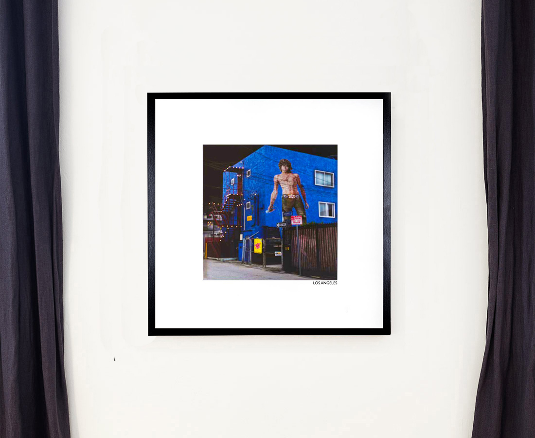 Mises en lumière - Jim Morrisson Venice beach LA 20010