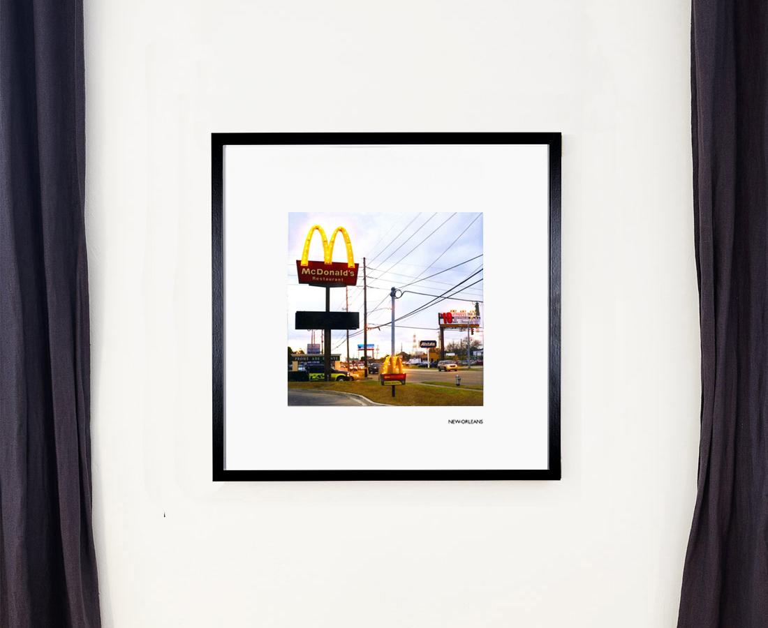 Mises en lumière - Mac-Donalds, New-Orleans