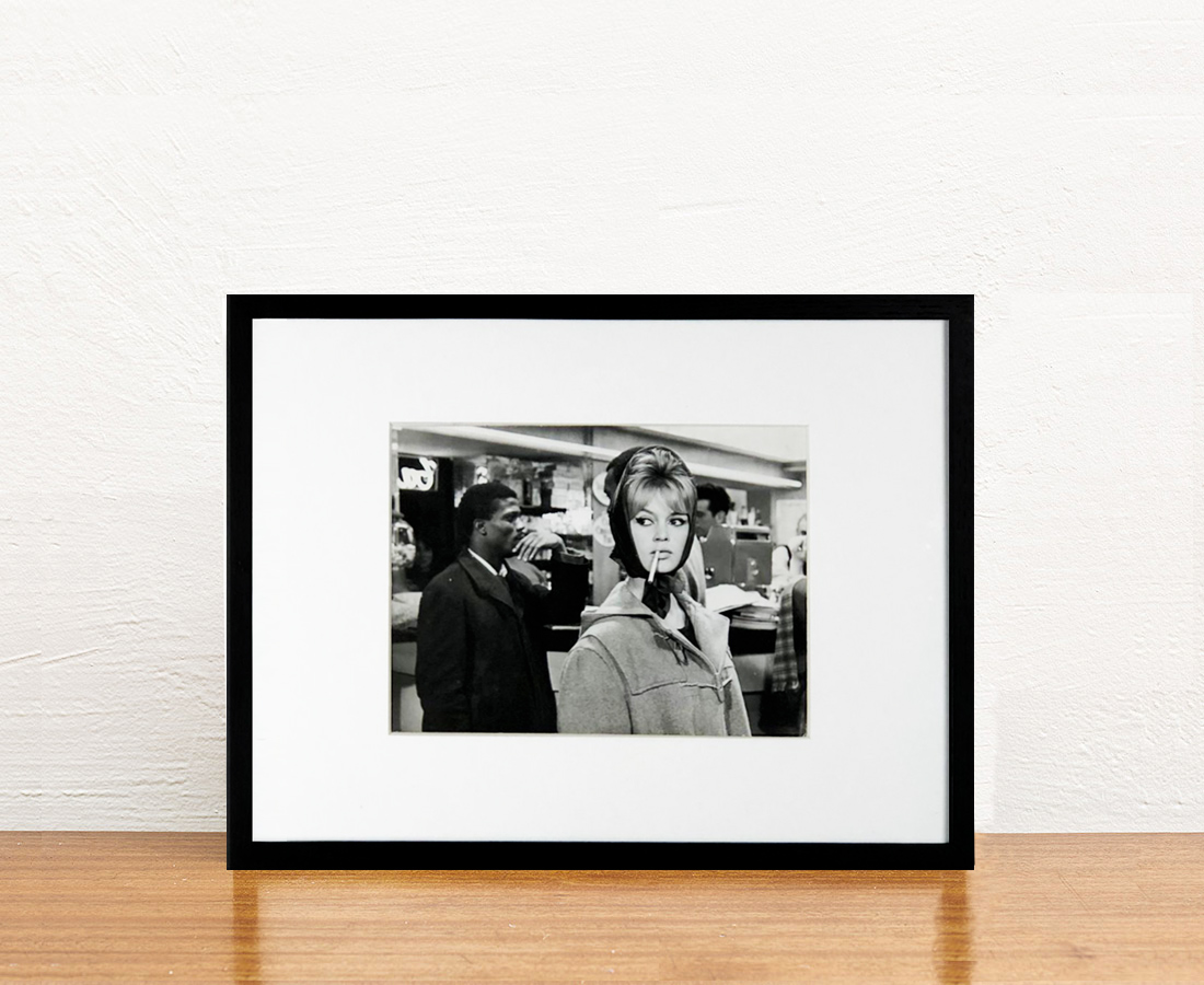 """Brigitte Bardot sur le tournage de """"La Vérité"""""""