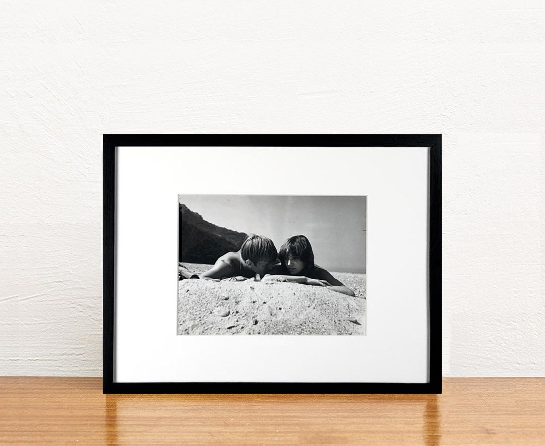 Jacques Perrin et Anna Karina 40x30cm