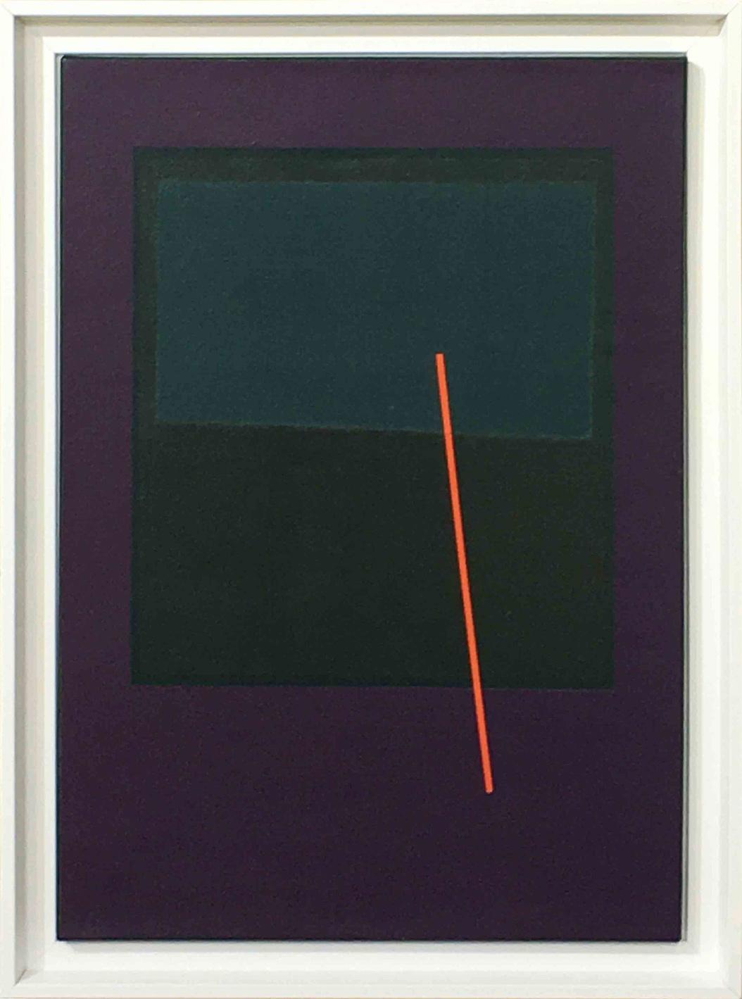 Carlos Stoffel - Sans titre (Violet barre orange)