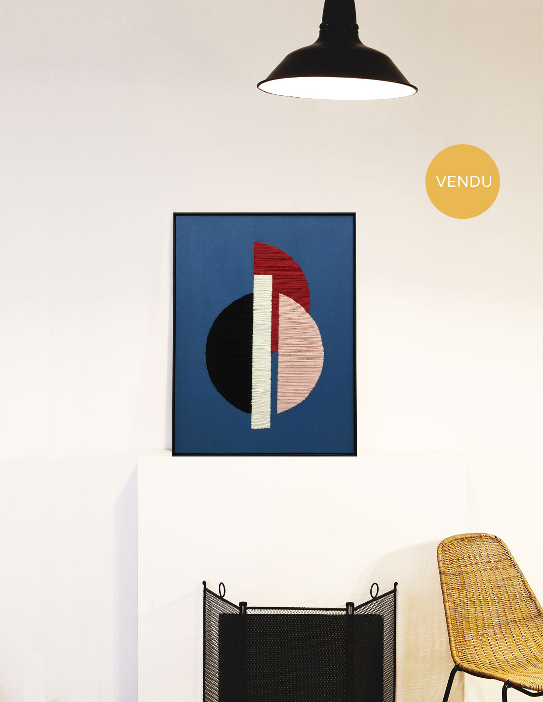 Kanica - Composition blue I