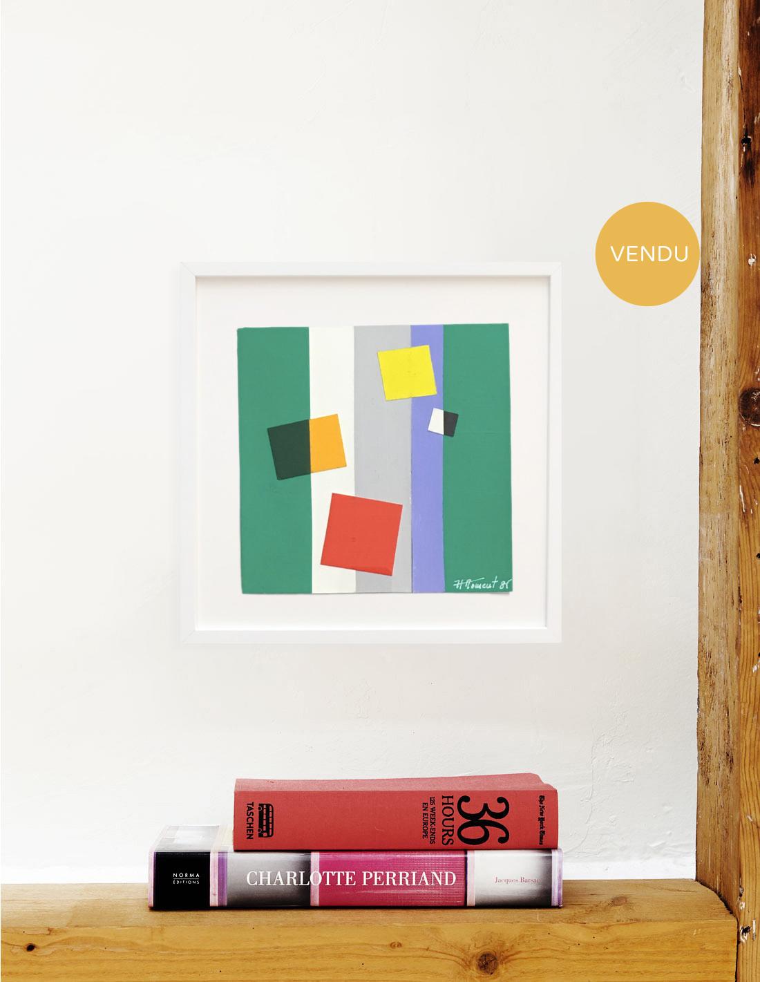Tableau - Joël Froment - Hommage à Matisse 3