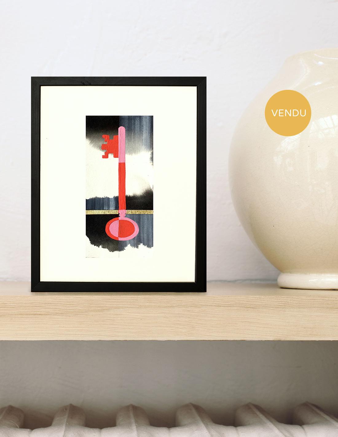 Milena Cavalan - Solution en rose et rouge