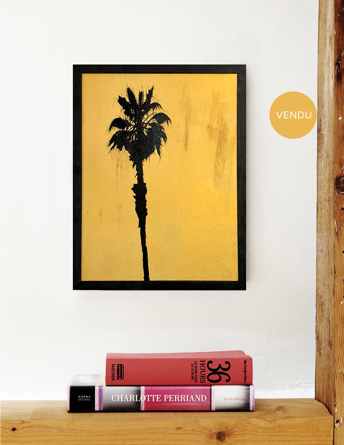 Moens palmtrees - Hubert Jouzeau