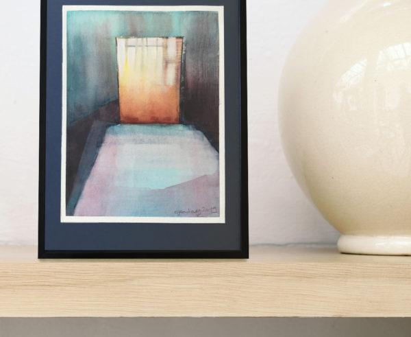Eliane Pouhaer - Aquarelle - Passage 2