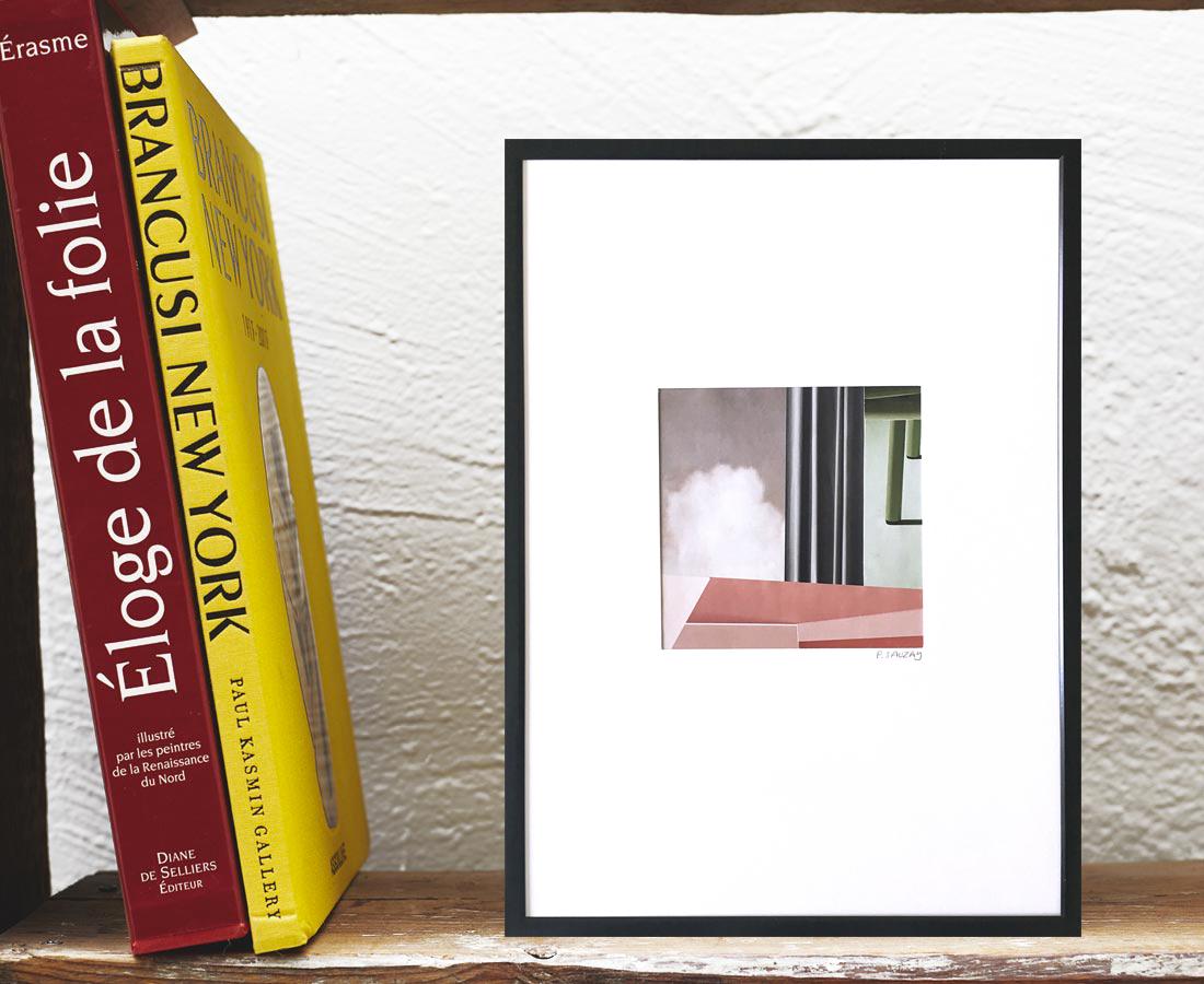 Pascaline Sauzay - Collage - Variation imaginaire 14
