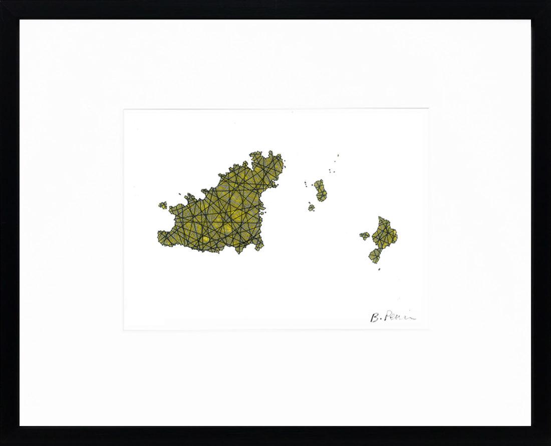 Baptiste Penin - Tableau couture - Guernesay